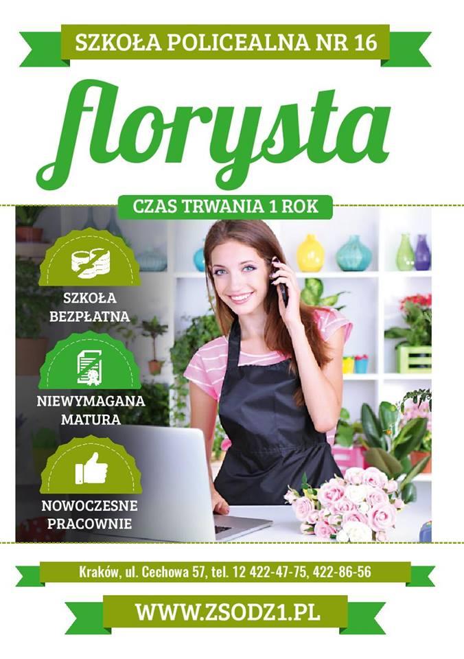 UWAGA ! Nowy kierunek – FLORYSTA – od 1.09.2016