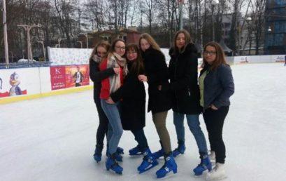Wycieczka na lodowisko w Parku Jordana