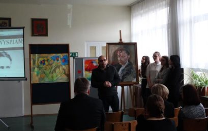 150 – lecie urodzin Stanisława Wyspiańskiego – patrona szkoły