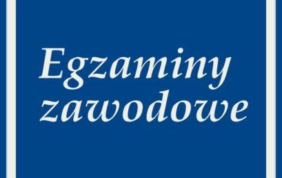 Harmonogram egzaminów z kwalifikacji zawodowych