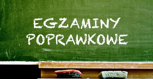 Harmonogram egzaminów poprawkowych 2018/2019