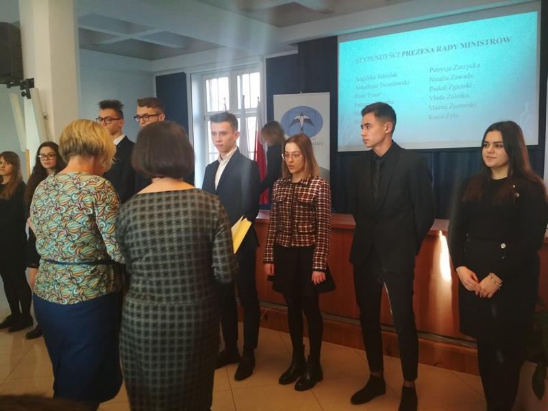 Stypendium Prezesa Rady Ministrów dla Naszej uczennicy