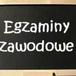 HARMONOGRAM EGZAMINÓW ZAWODOWYCH 2020