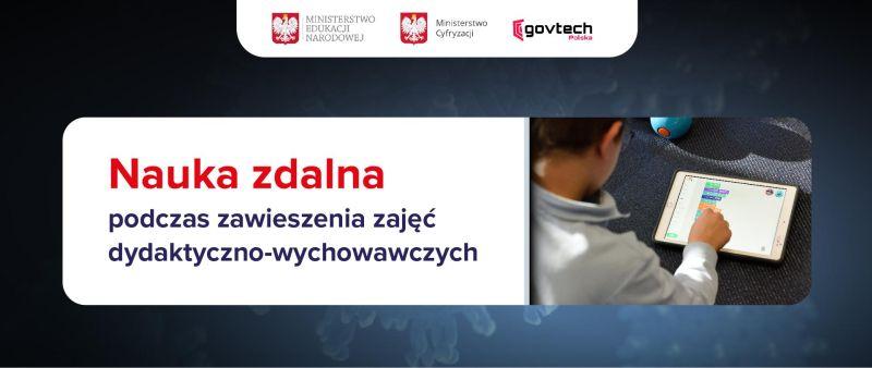 Nauka zdalna w Zespole Szkół Odzieżowych nr 1 w Krakowie